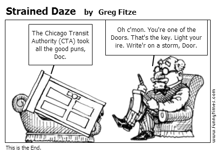 Strained Daze by Greg Fitze