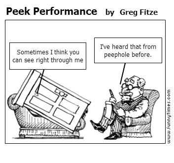 Peek Performance by Greg Fitze