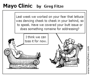 Mayo Clinic by Greg Fitze