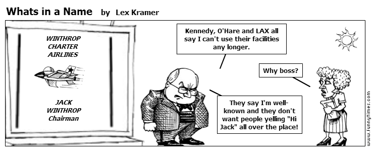 Whats in a Name by Lex Kramer