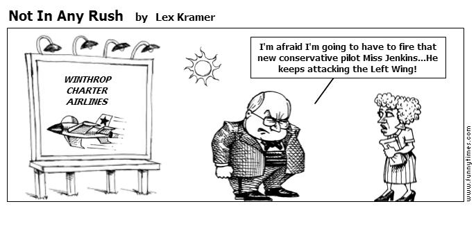 Not In Any Rush by Lex Kramer
