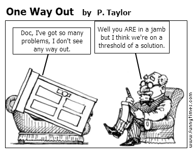 One Way Out by P. Taylor
