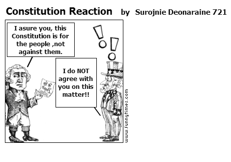 Constitution Reaction by Surojnie Deonaraine 721