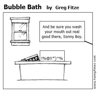Bubble Bath by Greg Fitze