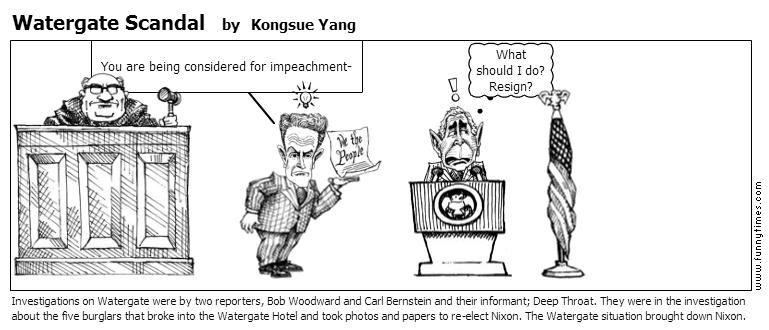 Watergate Scandal by Kongsue Yang