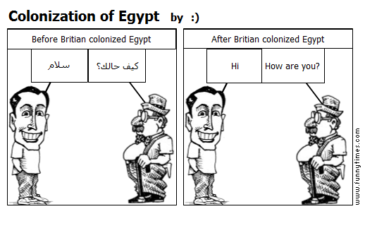 Colonization of Egypt by