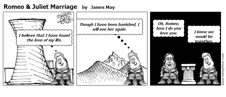 Romeo  Juliet Marriage by James May