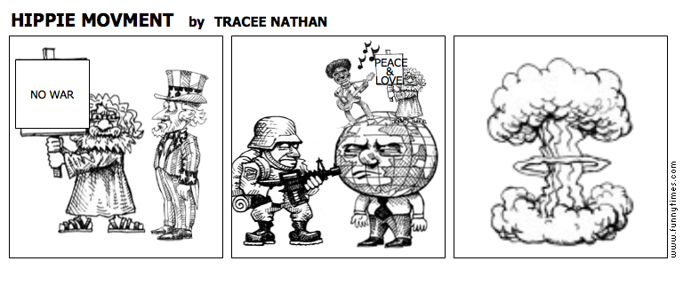 HIPPIE MOVMENT by TRACEE NATHAN