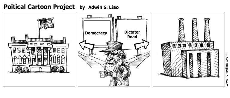 Poitical Cartoon Project by Adwin S. Liao