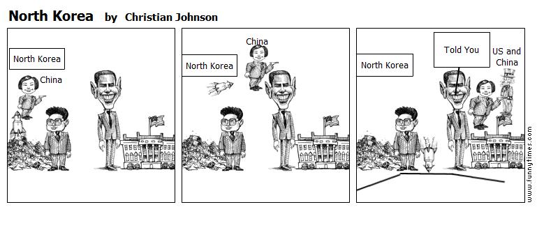 North Korea by Christian Johnson