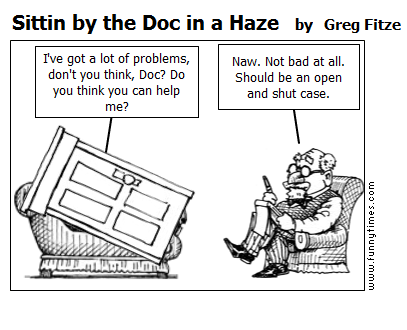 Sittin by the Doc in a Haze by Greg Fitze