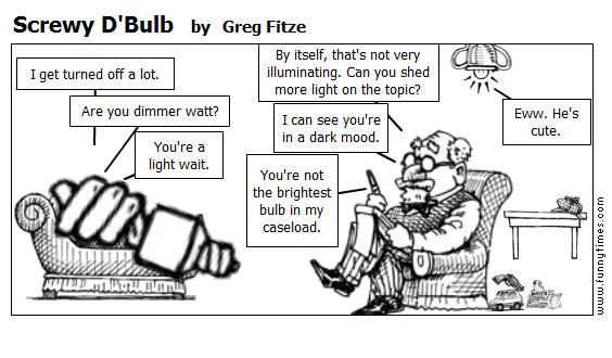Screwy D'Bulb by Greg Fitze