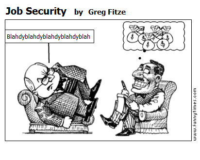 Job Security by Greg Fitze