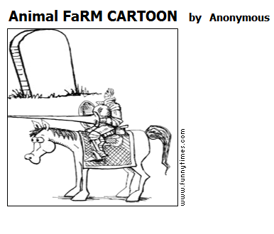 Animal FaRM CARTOON by Anonymous