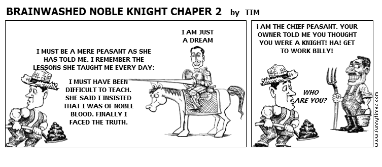 BRAINWASHED NOBLE KNIGHT CHAPER 2 by TIM
