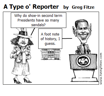 A Type o' Reporter by Greg Fitze