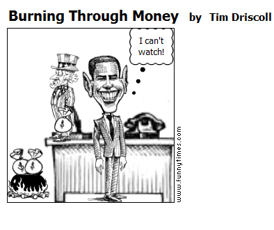Burning Through Money by Tim Driscoll