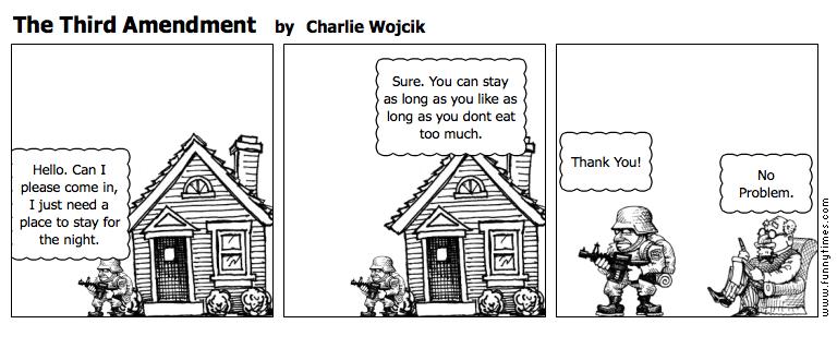 The Third Amendment by Charlie Wojcik