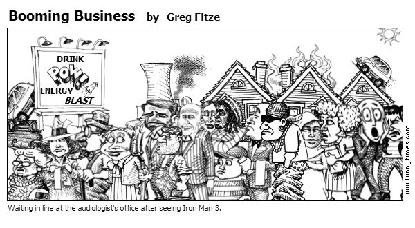 Booming Business by Greg Fitze