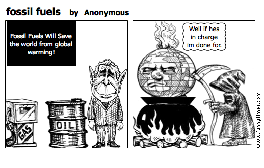 fossil fuels by Anonymous