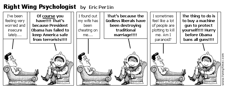 Right Wing Psychologist by Eric Per1in