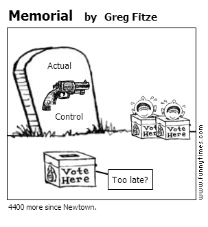 Memorial by Greg Fitze