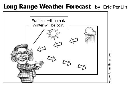 Long Range Weather Forecast by Eric Per1in