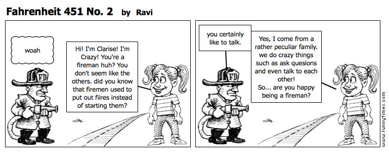 Fahrenheit 451 No. 2 by Ravi