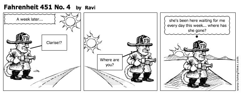 Fahrenheit 451 No. 4 by Ravi