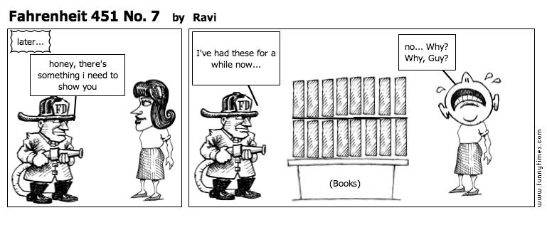 Fahrenheit 451 No. 7 by Ravi