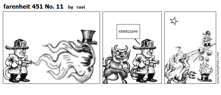 farenheit 451 No. 11 by ravi