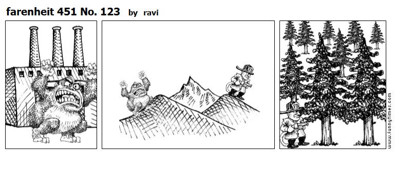 farenheit 451 No. 123 by ravi