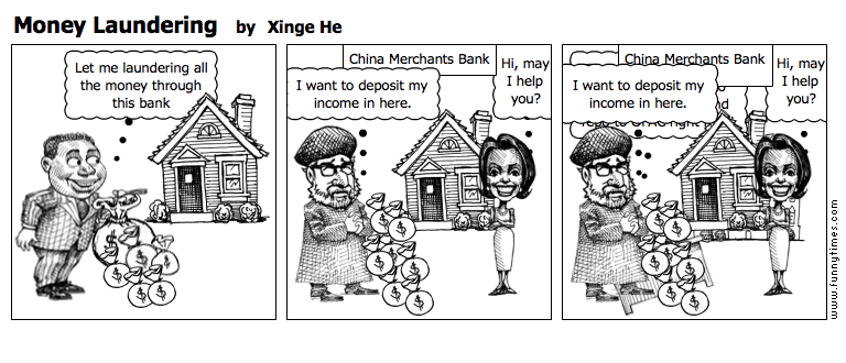 Money Laundering by Xinge He