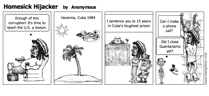 Homesick Hijacker by Anonymous