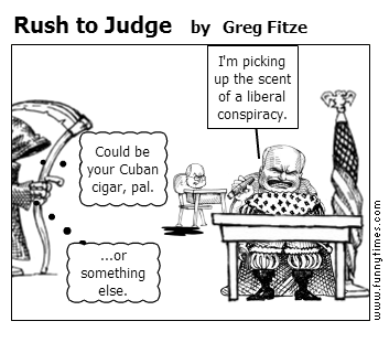Rush to Judge by Greg Fitze