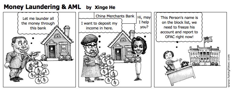 Money Laundering  AML by Xinge He