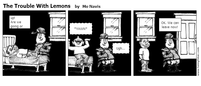 The Trouble With Lemons by Mo Navis