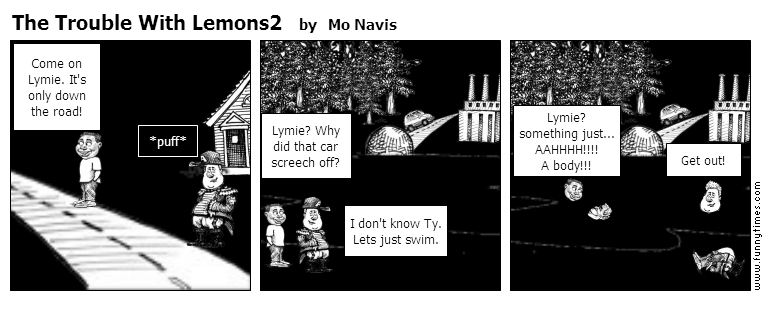The Trouble With Lemons2 by Mo Navis
