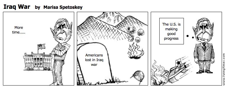 Iraq War by Marisa Spetoskey