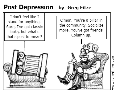 Post Depression by Greg Fitze