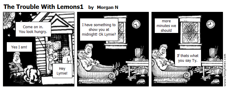 The Trouble With Lemons1 by Morgan N