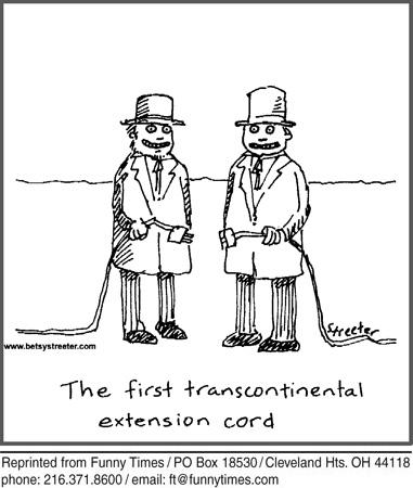 Funny talking streeter shulock  cartoon, May 15, 2013