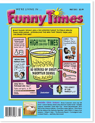 Funny Times May 2013 issue cover