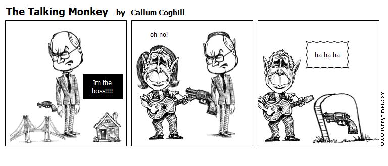The Talking Monkey by Callum Coghill