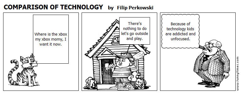 COMPARISON OF TECHNOLOGY by Filip Perkowski