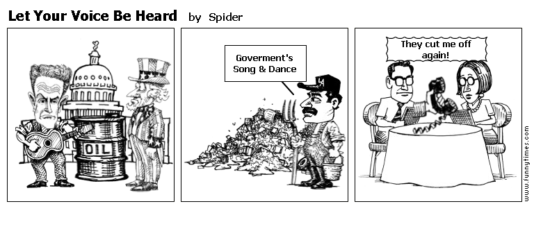 Let Your Voice Be Heard by Spider