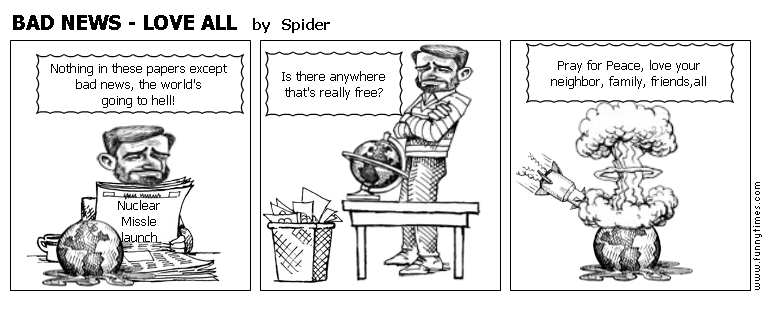 BAD NEWS - LOVE ALL by Spider