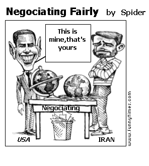 Negociating Fairly by Spider