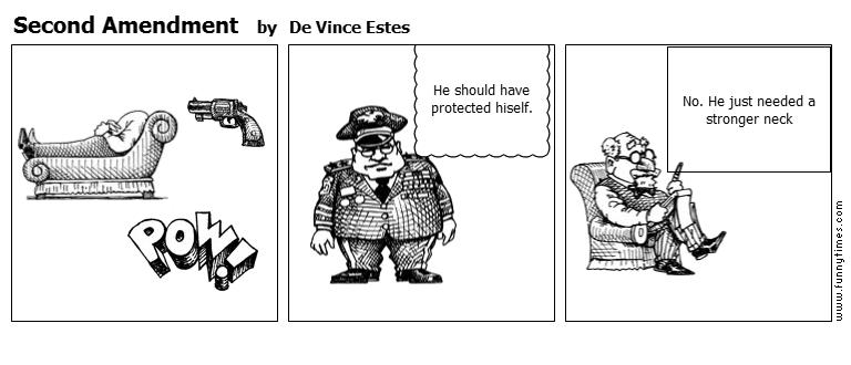 Second Amendment by De Vince Estes