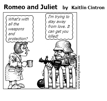 Romeo and Juliet by Kaitlin Cintron